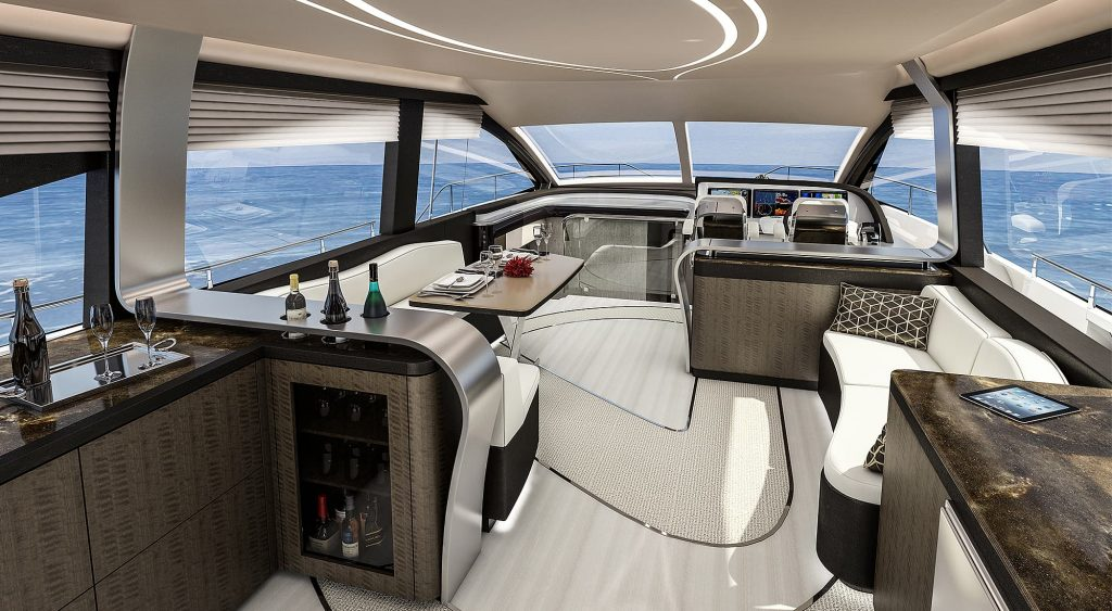 lexus ly 650 interior - Luxury Yacht Charters with PYC