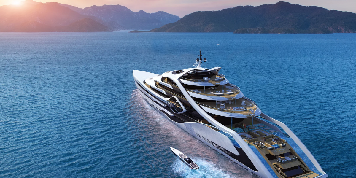 Acionna: The Hydrogen Powered Yacht Design Is Revitalizing The Superyacht Industry