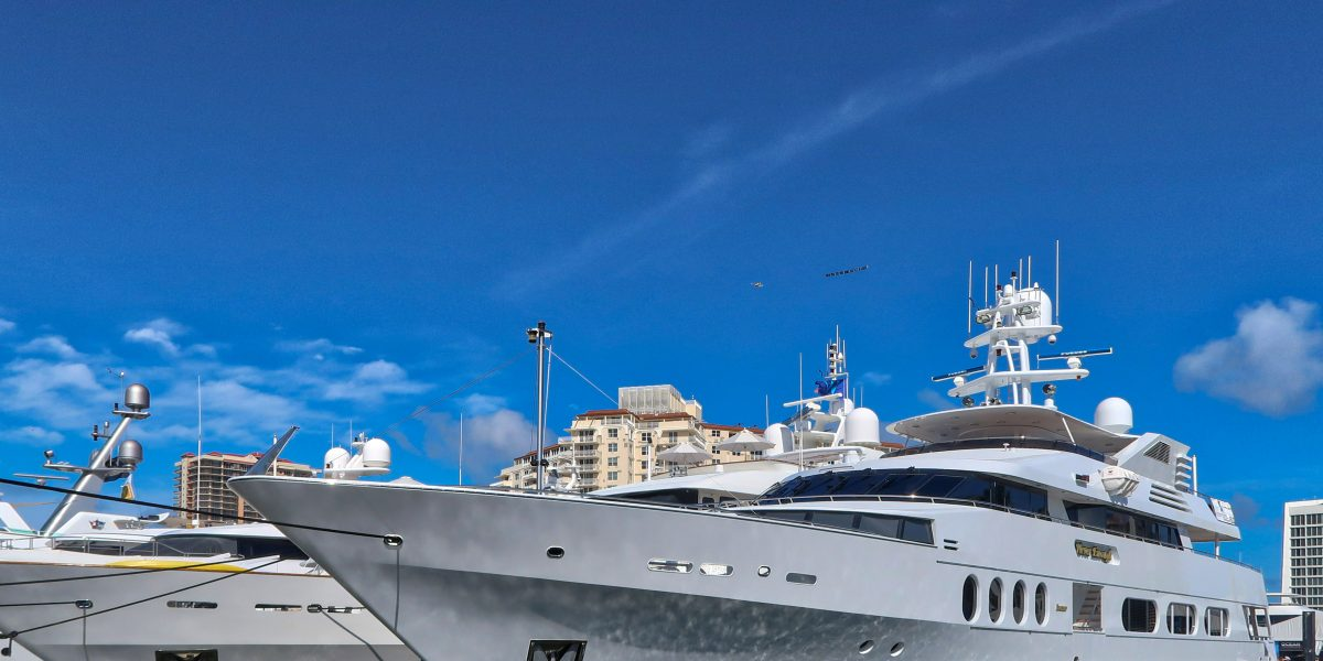 Superyachts For The Super Rich