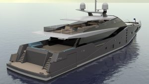 Project Stealth yacht