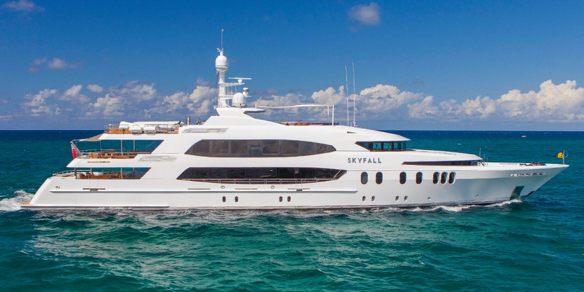 Trinity Yachts' M/Y Skyfall Superyacht