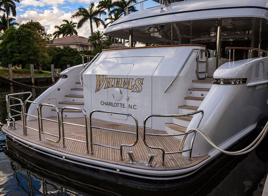 Wheels superyacht - PerfectYachtCharter.com