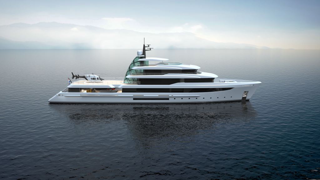 70m Expedition SuperYacht-Project Crystal