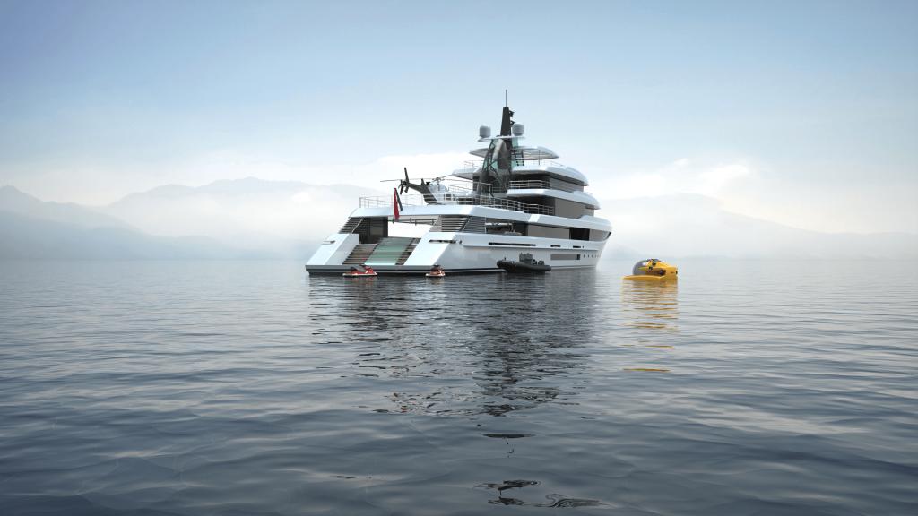 Expedition MegaYacht-Project Crystal-Mulder Design
